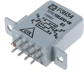 РЭН34 ХП4.500.030-01, (12В), Реле электромагнитное