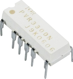 PVR3300NPBF, Реле 2-полярное 300B AC/DC, 165 мА DIP16 Uиз=1, 5кВ IND