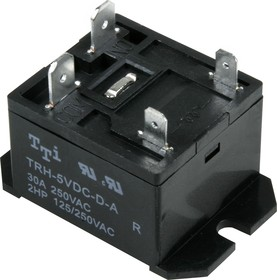 TRH-5VDC-D-A-R, Реле 1зам. 5V / 30A, 250VAC