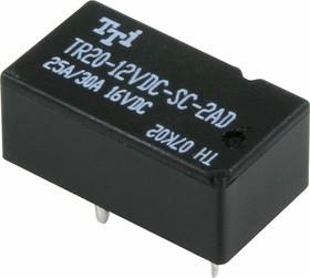 TR20-12VDC-SC-2AD, Реле 2зам. 12V / 30A, 14VDC
