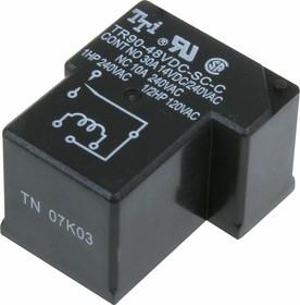 TR90-48VDC-SC-C, Реле 1пер. 48V / 20А, 240VAC