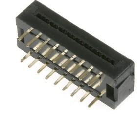 DIP-18 (FDC-18) (DS1019-18N), Разъем узкий DIP на шлейф 18 контактов