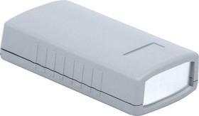G403A, Корпус для РЭА 90х50х24мм, пластик, темно-серый, алюминиевая панель