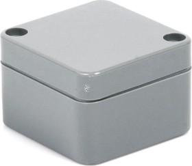 Фото 1/4 G362, Корпус для РЭА 52х50х35 мм, пластик, темно-серый