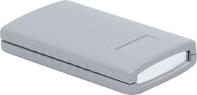 G401A, Корпус для РЭА 90х50х16мм, пластик, темно-серый, алюминиевая панель