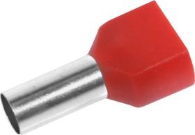 CT2100014 (DTE10014) (TIC2-10.0-14), Наконечник для многожильного кабеля красный
