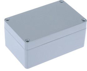 Фото 1/2 G113P, Корпус для РЭА 115x90x55мм, металл, герметичный, серый