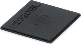 G202013L, Крышка для корпуса 20х20мм, пластик, черный
