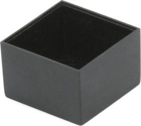 G202013B, Корпус для РЭА 20х20х13мм, пластик, черный