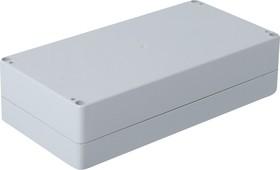 Фото 1/3 G2113, Корпус для РЭА 240х120х60мм, пластик, светло-серый