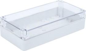 Фото 1/2 G2113С, Корпус для РЭА 240х120х60мм, пластик, с прозрачной крышкой