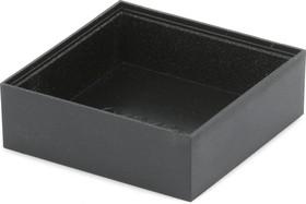 G404013B, Корпус для РЭА 40х40х13мм, пластик, черный
