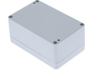 G108P, Корпус для РЭА 125x80x57мм окрашенный, металл, герметичный, серый