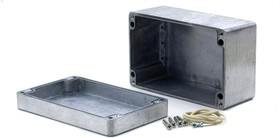 G117P, Корпус для РЭА 160x100x81мм окрашенный, металл, герметичный, серый