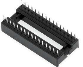 Фото 1/2 ICSS-32 (DS1010-32W), DIP панель 32-контактная шаг 1.778мм широкая