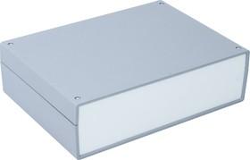 Фото 1/2 G721, Корпус для РЭА 245х175х70мм, пластик, темно-серый, светло-серая панель
