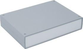 Фото 1/2 G720, Корпус для РЭА 245х175х50мм, пластик, темно-серый, светло-серая панель