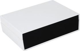 Фото 1/2 G751, Корпус для РЭА 245х175х70мм, пластик, светло-серый, черная панель