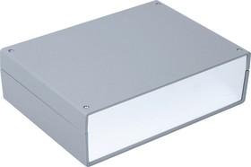 G721A, Корпус для РЭА 245х175х70мм, пластик, темно-серый, алюминиевая панель