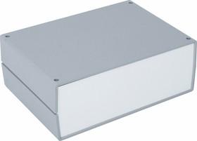 G722, Корпус для РЭА 245х175х90мм, пластик, темно-серый, светло-серая панель