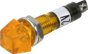 P-815Y, Лампа накаливания с держателем желтая 12V