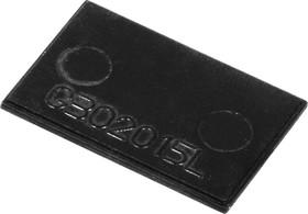 Фото 1/2 G302015L, Крышка для корпуса 30х20мм, пластик, черный