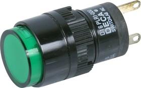 Фото 1/2 D16PLR1-000CG, Индикатор, Incandescent подсветка 28V AC/DC 40mA