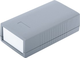G416A, Корпус для РЭА 150х80х45мм, пластик, темно-серый, алюминиевая панель