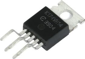 К174УН14 (93-11г), Усилитель низкой частоты с тепловой и токовой защитой с выходной мощностью 5.5 Вт (TDA2003) ( ILA200