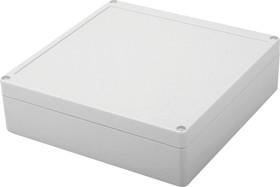 Фото 1/2 G2135, Корпус для РЭА 190х190х55мм, пластик, светло-серый