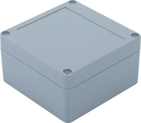 Фото 1/2 G3101, Корпус для РЭА 100х100х55мм, пластик, темно-серый