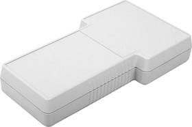 Фото 1/2 G858G(S)BC, Корпус фигурный 237x131x45, пластик, серый, с батарейным отсеком