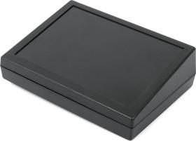 Фото 1/2 G1183BUL, Корпус РЭА 189х134х32/54мм, пластик, черный, термостойкий