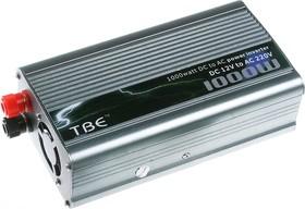 Преобразователь напряжения (DC/AC инвертор) 12В/220В, 1000Вт