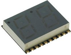 KPDA04-104 (KCDA04-104), Индикатор красный, 27.5мКд, 10.16мм, 7х2