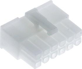 Фото 1/3 0039012120, MF-2x6F(MF-12F) розетка Mini-Fit без контактов
