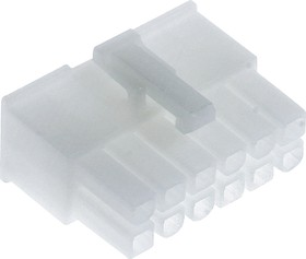 0039012120, MF-2x6F(MF-12F) розетка Mini-Fit без контактов