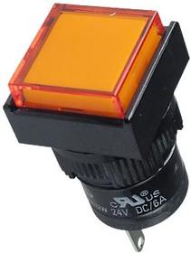 D16PLS1-000KO, Индикатор оранжевый 24В/LED