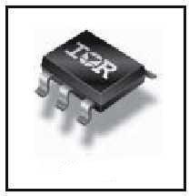 Фото 1/2 IRLTS2242TRPBF, Транзистор, P-канал 20В 6.9A [Micro-6 / TSOP-6]