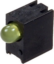 Фото 1/2 L-93A8EWP/1YD/TG-0L, Светодиод желтый SMD