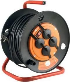 SK4x50x1.5-Z (УС1-43113), Удлинитель силовой, защита от перегрузок+брызгозащита, 16А, 50м