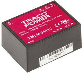 TMLM 04112, AC/DC Power Supply Single-OUT 12V 0.333A 4W 7-Pin