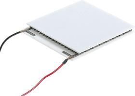 Фото 1/2 ICE-71 с порожком, Модуль Пельтье термоэлектрический 40х44мм, 8А 80Вт(с проводами)