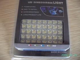 TLS-FL-08AUTO-UBC, Светодиодная сборка синяя, 8 светодиодов, 12V 470нМ