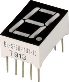 BL-S56B-11UY, Индикатор желтый 12.60х19.00мм 38мКд, общий анод
