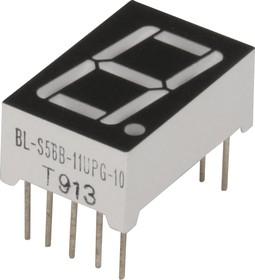 BL-S56B-11PG(UPG), Индикатор зеленый 12.60х19.00мм 60мКд, общий анод