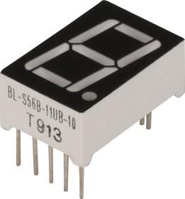 BL-S56B-11UB, Индикатор синий 12.60х19.00мм 70мКд, общий анод