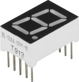 BL-S56A-12UY, Индикатор желтый 12.60х19.00мм 38мКд, общий катод