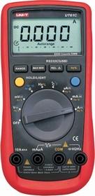 Фото 1/5 UT61C, Мультиметр цифровой с автоматическим выбором диапазона (OBSOLETE)