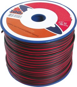 SP2050BC, Кабель акустический 2x0.5 кв.мм. ( красный/черный)